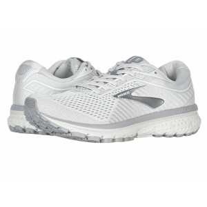 Brooks Ghost 12 Oyster/Alloy/White [Clearance Sale]