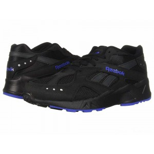 Reebok Lifestyle Aztrek Black/White/Crushed Cobalt/Blue Hills [Sale]