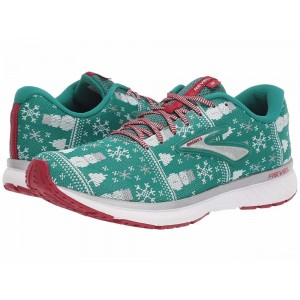 Brooks Revel 3 Green/Red/Silver [Clearance Sale]