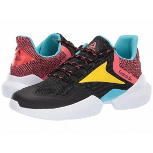 Reebok Split Fuel Black/True Grey/Bright Rose/Yellow/Blue/White [Sale]