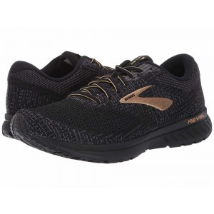 Brooks Revel 3 Black/Ebony/Gold [Clearance Sale]