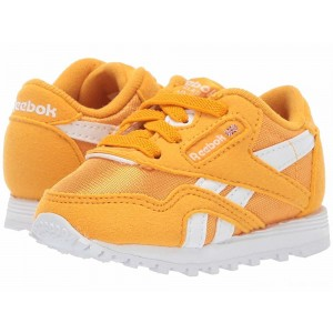 Reebok Kids Classic Nylon MU (Infant/Toddler) Gold/White [Sale]