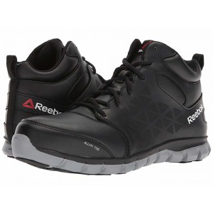 Reebok Work Sublite Cushion Work Mid EH Black [Sale]