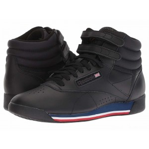 Reebok Lifestyle Freestyle Hi Black/White/Bunker Blue/Primal Red/Coal [Sale]