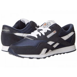 Reebok Lifestyle Classic Nylon W Team Navy/Platinum [Sale]