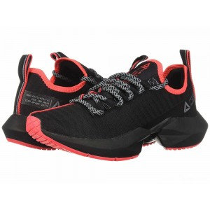 Reebok Sole Fury SE Black/Cold Grey/Neon Red [Sale]
