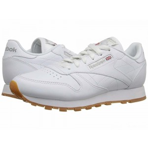 Reebok Lifestyle Classic Leather White/Gum [Sale]