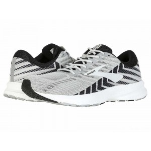 Brooks Launch 6 Alloy/Black/Grey [Clearance Sale]