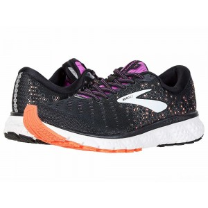Brooks Glycerin 17 Black/Fiery Coral/Purple [Clearance Sale]
