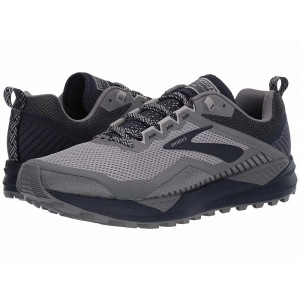 Brooks Cascadia 14 Grey/Navy [Clearance Sale]