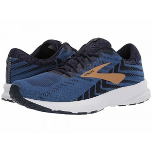 Brooks Launch 6 Peacoat/Blue/Gold [Clearance Sale]