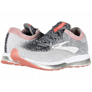 Brooks Bedlam Grey/Coral/White [Clearance Sale]