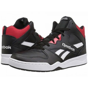 Reebok Lifestyle Royal BB4500 Hi 2 Black/White/Primal Red/Light Grey Heather Solid Grey [Sale]