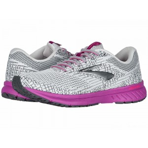 Brooks Revel 3 Grey/Primer/Hollyhock [Clearance Sale]