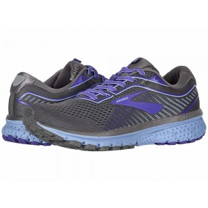 Brooks Ghost 12 Shark/Violet/Bel Air Blue [Clearance Sale]