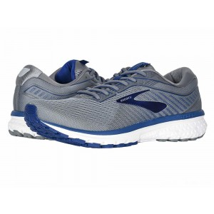 Brooks Ghost 12 Grey/Alloy/Blue [Clearance Sale]