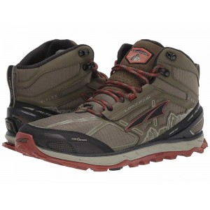 Altra Footwear Lone Peak 4 Mid Mesh Ivy Green/Red Clay [Sale]