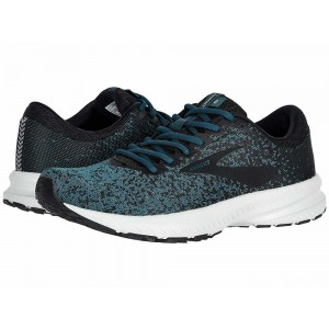 Brooks Launch 6 Black/Atlantic/Gold [Clearance Sale]