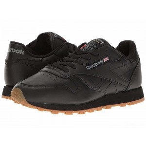 Reebok Lifestyle Classic Leather Black/Gum [Sale]