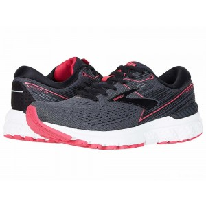 Brooks Adrenaline GTS 19 Black/Ebony/Pink [Clearance Sale]