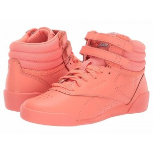 Reebok Kids F/S Hi (Toddler/Youth) Pink/White/Peach [Sale]