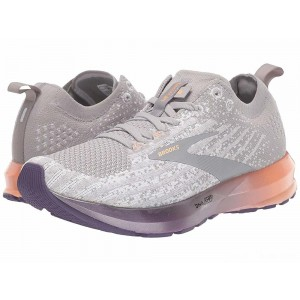 Brooks Levitate 3 White/Purple/Cantaloupe [Clearance Sale]