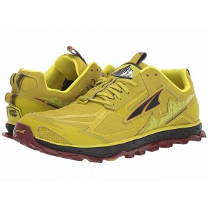Altra Footwear Lone Peak 4.5 Lime/Red [Sale]