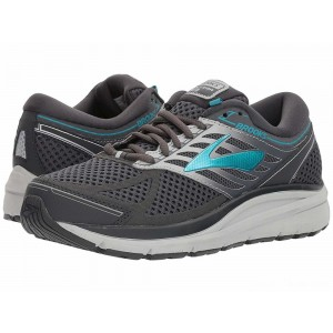 Brooks Addiction 13 Ebony/Silver/Pagoda Blue [Clearance Sale]
