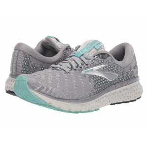 Brooks Glycerin 17 Grey/Aqua/Ebony [Clearance Sale]