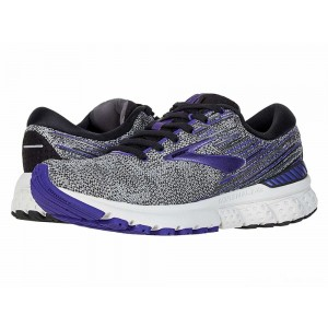 Brooks Adrenaline GTS 19 Black/Purple/Grey [Clearance Sale]