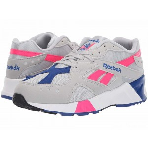Reebok Lifestyle Aztrek Grey/Pink/Royal/White/Black [Sale]