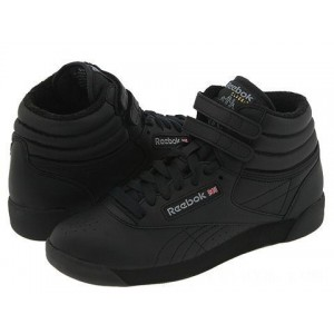 Reebok Lifestyle Freestyle Hi Black [Sale]
