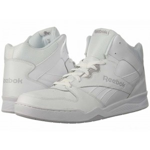 Reebok Lifestyle Royal BB4500 Hi 2 White/Light Grey Heather Solid Grey [Sale]