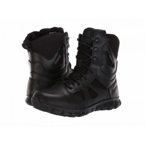 "Reebok Work 8"" Sublite Cushion Tactical Black [Sale]"