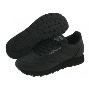 Reebok Lifestyle Classic Leather Black [Sale]