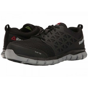Reebok Work Sublite Cushion Work EH Black Synthetic [Sale]