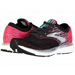 Brooks Ricochet Pink/Black/Aqua [Clearance Sale]