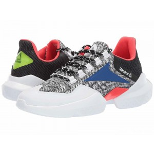 Reebok Split Fuel White/Black/Team Dark/Neon Red/Neon Lime [Sale]