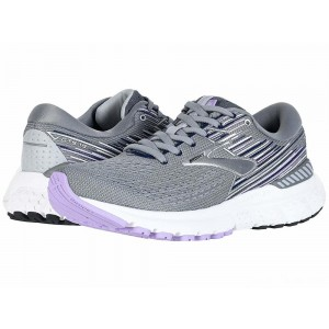 Brooks Adrenaline GTS 19 Grey/Lavender/Navy [Clearance Sale]