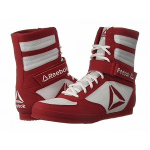 Reebok Reebok Boxing Boot - Buck White/Excellent Red [Sale]