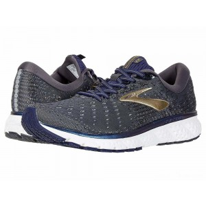 Brooks Glycerin 17 Grey/Navy/Gold [Clearance Sale]