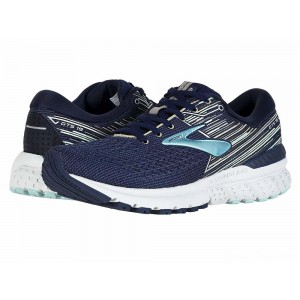 Brooks Adrenaline GTS 19 Navy/Aqua/Tan [Clearance Sale]