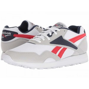 Reebok Lifestyle Rapide MU Skull Grey/White/Collegiate Navy/Primal Red [Sale]