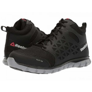 Reebok Work Sublite Cushion Work Mid SD Black [Sale]