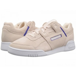 Reebok Lifestyle Workout Lo Plus Pale Pink/Ultima Purple/White [Sale]