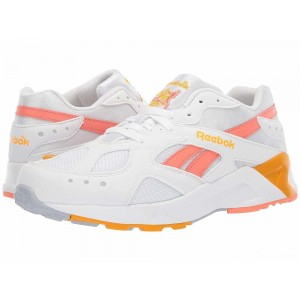 Reebok Lifestyle Aztrek Bright Pop White/Stellar Pink/Gold/Grey [Sale]