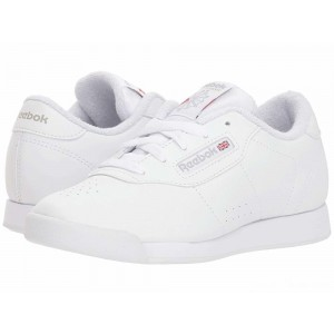Reebok Kids Princess (Little Kid) White/Grey [Sale]