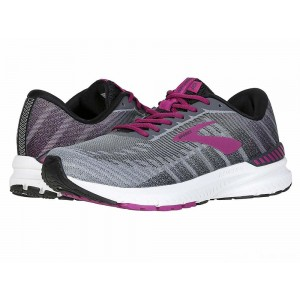 Brooks Ravenna 10 Ebony/Black/Wild Aster [Clearance Sale]
