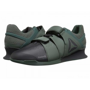 Reebok Legacy Lifter Coal/Chalk Green/Industrial Green [Sale]