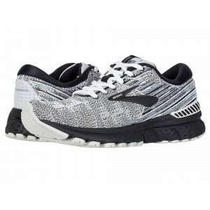 Brooks Adrenaline GTS 19 White/Black/Grey [Clearance Sale]